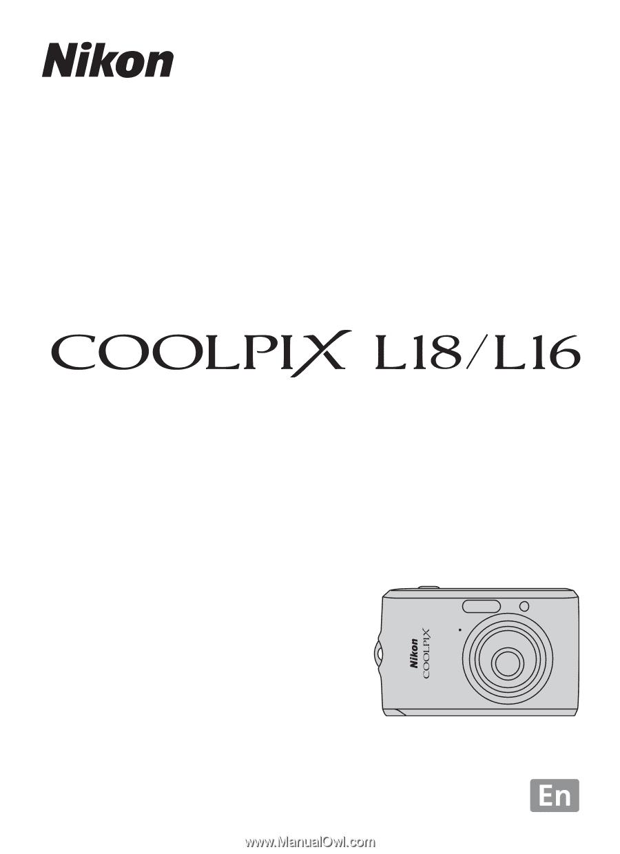 nikon coolpix l16 l18 l16 user s manual rh manualowl com Nikon Coolpix L16 Software Nikon Coolpix L18