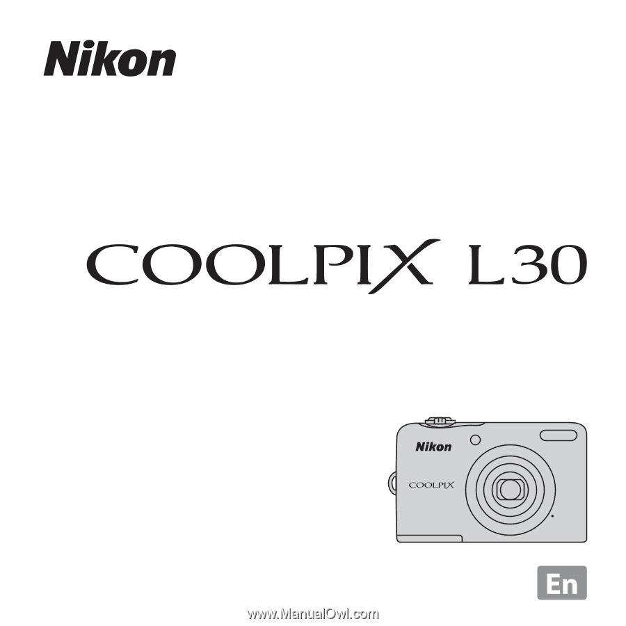 nikon coolpix l30 user manual