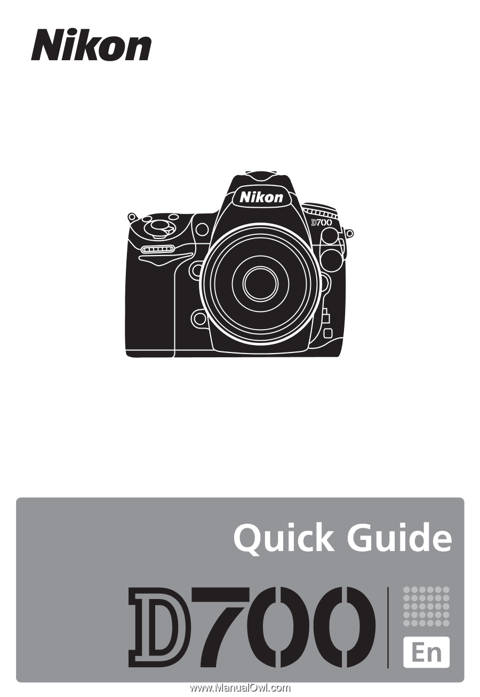 nikon d700 quick guide rh manualowl com nikon d7000 quick start guide nikon d700 quick start guide