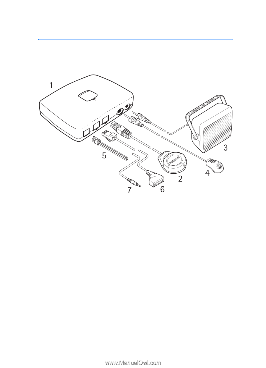 Nokia Advanced Car Kit CK-7W | User Guide - Page 16 on