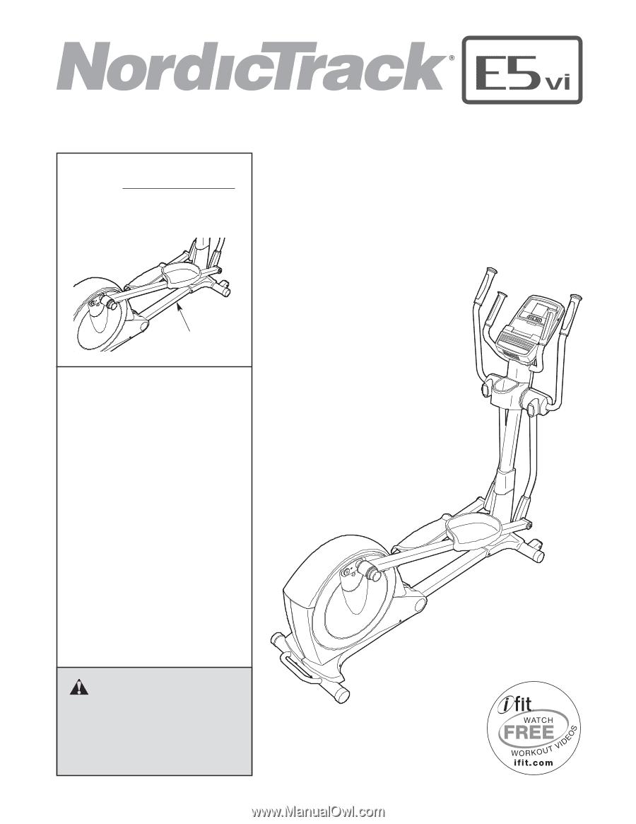 NORDICTRACK C MANUAL PDF DOWNLOAD