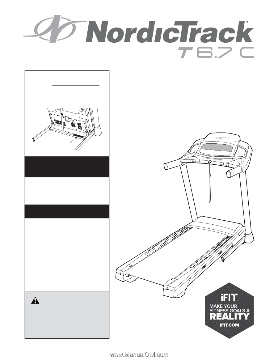 Nordictrack t 67c treadmill enc manual users manual asfbconference2016 Images