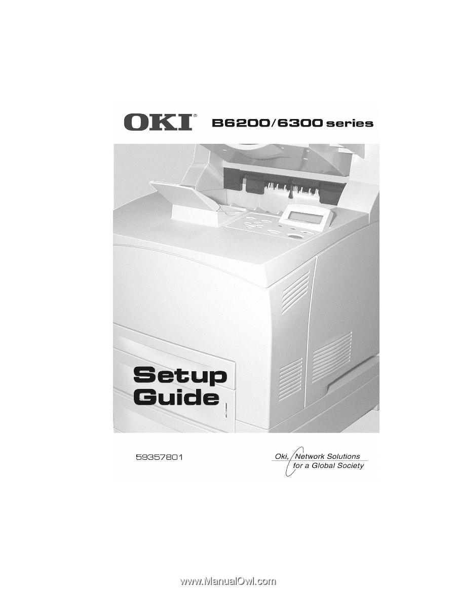 oki b6300 b6200 6300 series setup guide english rh manualowl com Okidata 420 Okidata 320