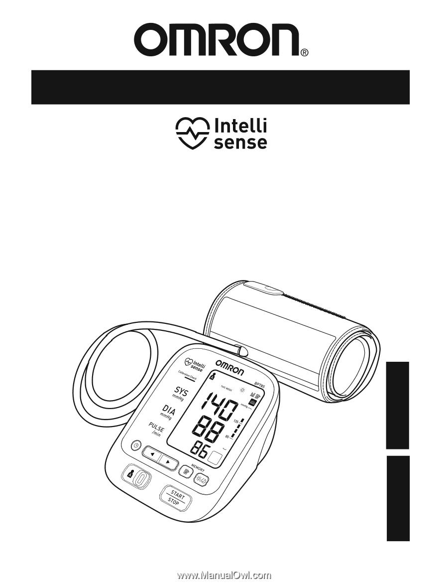 Omron Bp785 Instruction Manual