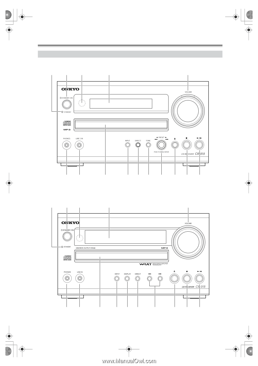 Onkyo Cs 315 Owner Manual Page 19 Receiver With Pre Outs On Wiring Diagram For Powered Subwoofer 8