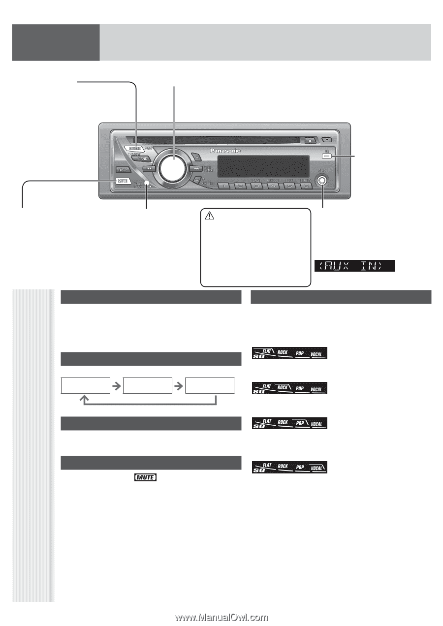Panasonic Cq C1305u Installation Manual Experience Of Wiring Diagram C1101u Auto Radio Cd Deck Mult Lang Page 7 Rh Manualowl Com Civic