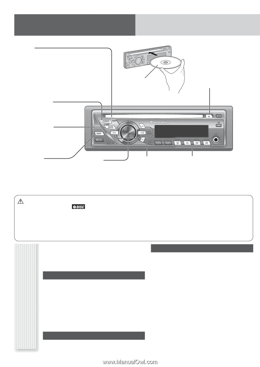 Panasonic Cq C1305u Wiring Diagram Libraries C7 Car Stereo Harness Librarypanasonic Auto Radio Cd Deck Mult Lang Page