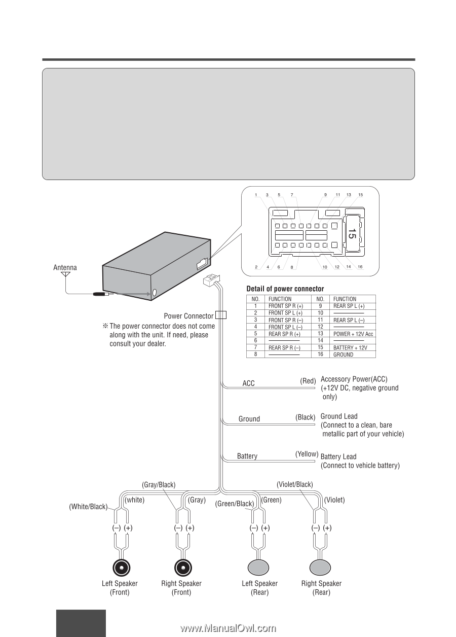 Panasonic Cq C5301u Wiring Diagram
