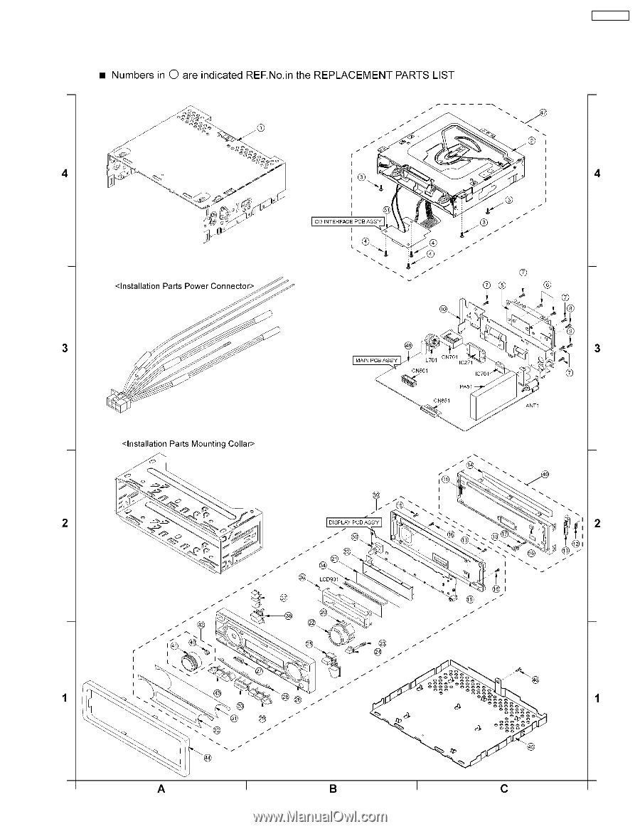 panasonic cq c1301u wiring diagram panasonic connectors
