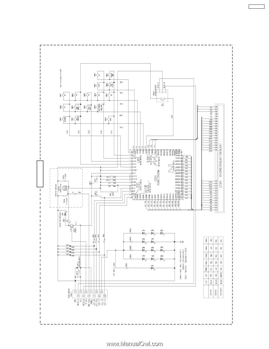 Panasonic CQC1103U | Service Manual - Page 24 on panasonic cq c1110u, panasonic dvd wiring, panasonic cq-c7301u, panasonic cassette diagram, panasonic car stereo wiring diagram,