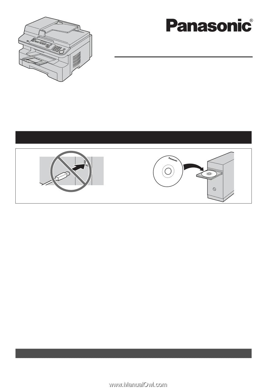 Panasonic KX-MB781C Multi-Function Station Drivers for Windows XP