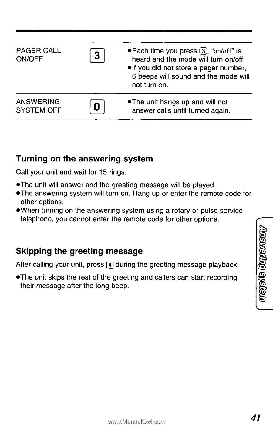 Panasonic KXTCM939B   KXTCM939B User Guide - Page 41