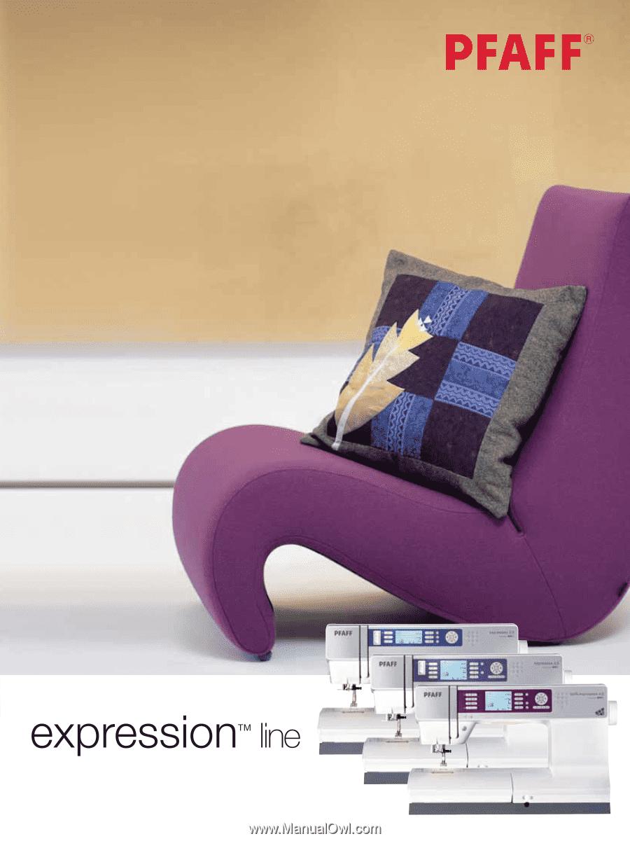 pfaff expression 2.0 manual