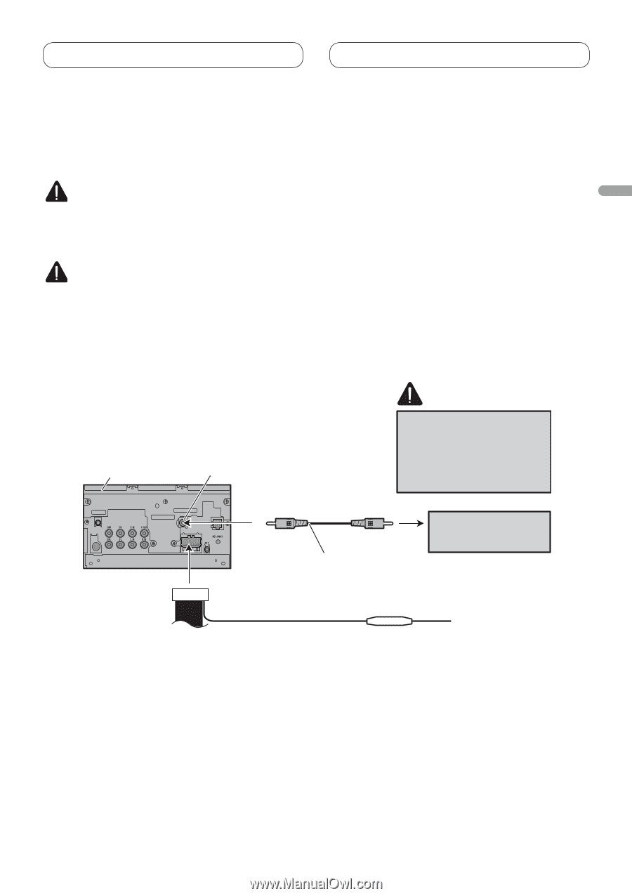 Pioneer Avh P3100dvd Installation Manual Page 14 Franais