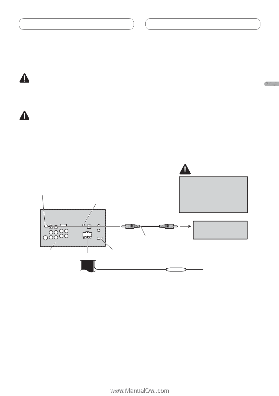Pioneer Avh P3200dvd Installation Manual Wiring Diagram Page 21 Rh Manualowl Com P3200bt Manuals