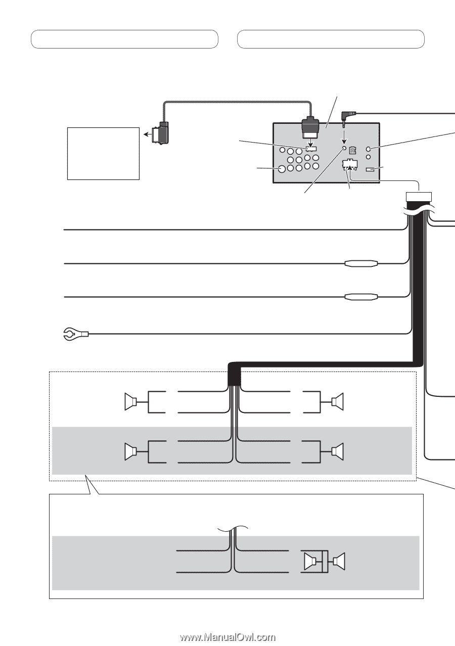 Pioneer Avh P3200dvd Installation Manual One Word Quickstart Page 6 Rh Manualowl Com P3200 Espaol
