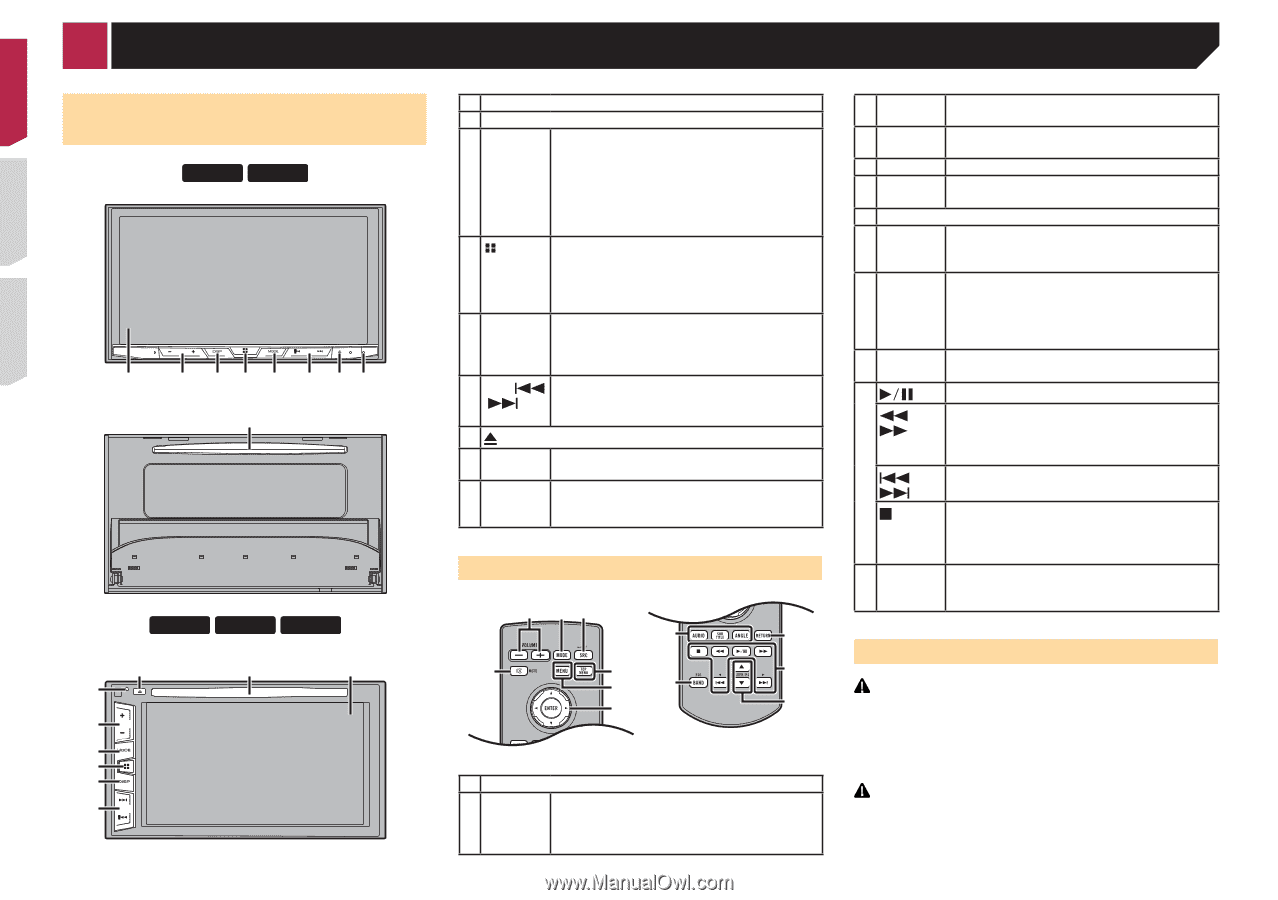 Pioneer Avh X4700bs Owners Manual Page 12 Wiring Diagram Color 8