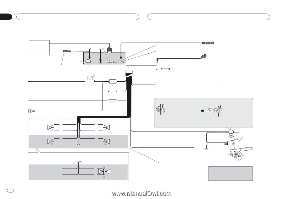 Pioneer Avh-X490Bs Wiring Diagram from www.manualowl.com