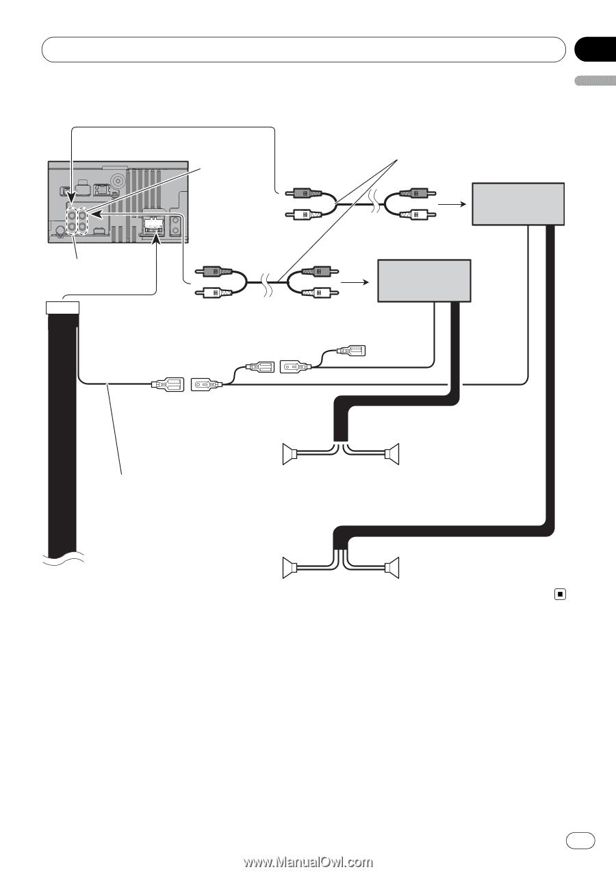 pioneer avic u310bt installation manual page 13 rh manualowl com Pioneer AVIC-U310BT Review Pioneer AVIC-U310BT Review