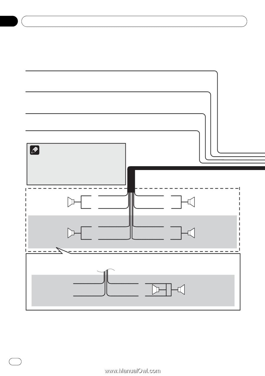 Pioneer Avic Z140bh Installation Manual One Word Quickstart Guide Mvh P8200bt Wiring Diagram X940bt Page 10 Rh Manualowl Com Refirbished Units