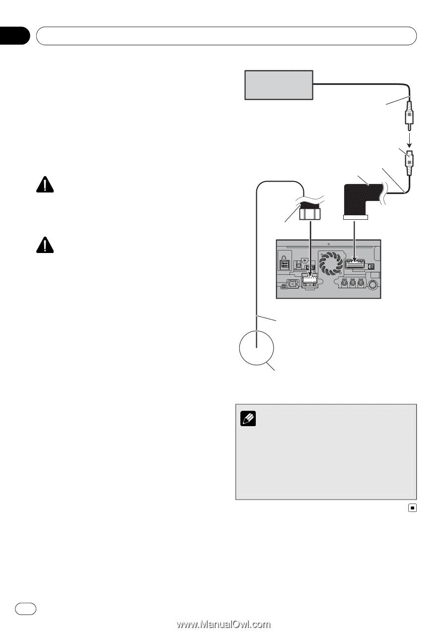 Pioneer Avic Z140bh Installation Manual One Word Quickstart Guide Mvh P8200bt Wiring Diagram Page 16 Rh Manualowl Com Z150bh