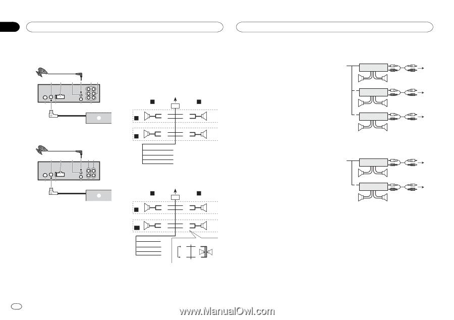 Pioneer Diagram Wiring Deh X4600bt Diagrams Mosfet 50wx4 Car Radio Owner S Manual Page 24 Rh Manualowl Com Stereo