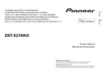 pioneer dxt x2769ui owners manual schematics wiring diagrams \u2022  pioneer dxt x2769ui owner s manual page 6 rh manualowl com car stereo pioneer dxt x2769ui wiring diagram