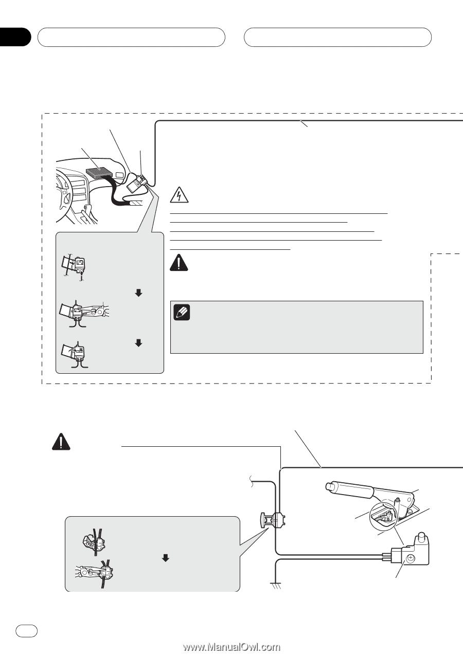 Pioneer Avic F7010bt Manual Asv Pt 80 Wiring Diagram Array F900bt Installation Page 12 Rh Manualowl Com