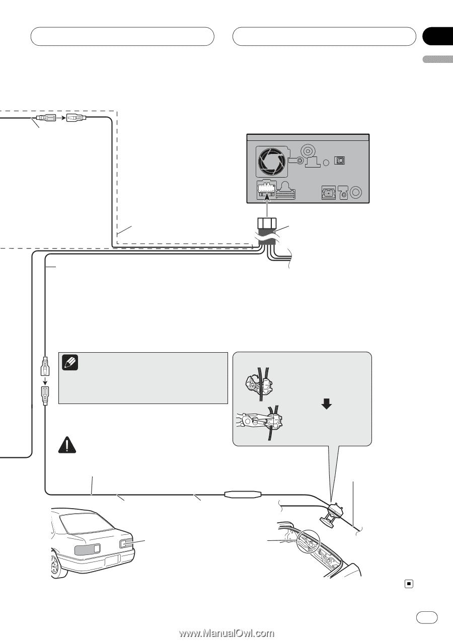 Pioneer Avic F7010bt Manual 1845c Wiring Diagram Back Up Alarm Array F700bt Installation Page 13 Rh Manualowl Com