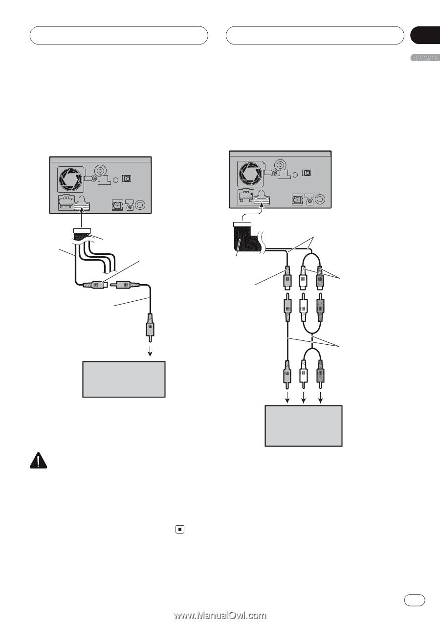 pioneer avic d2 installation manual