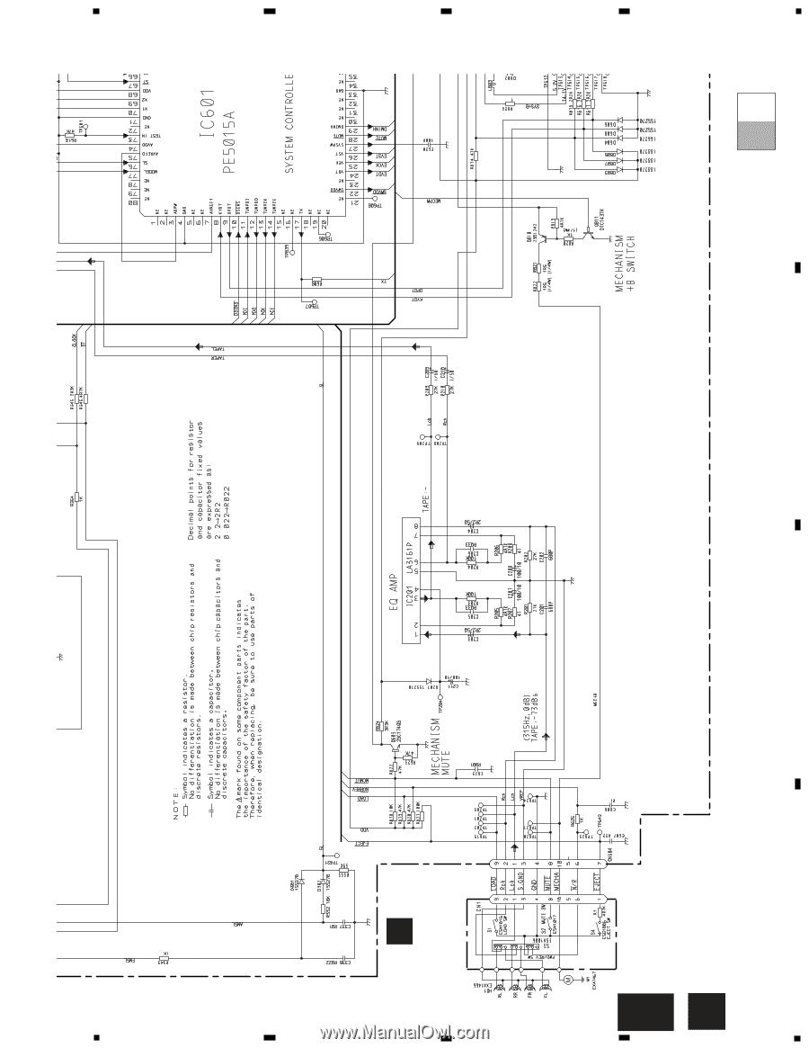 Pioneer keh p2800 service manual page 11 11 sciox Gallery