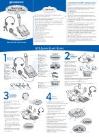 plantronics s12 user guide page 1 rh manualowl com Plantronics Telephone Headsets Plantronics Savi W720