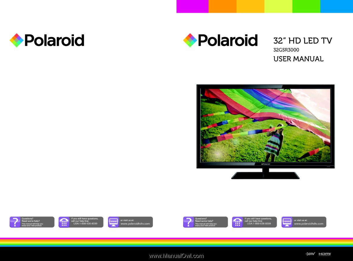 polaroid 32gsr3000 32gsr3000 polaroid tv manual rh manualowl com