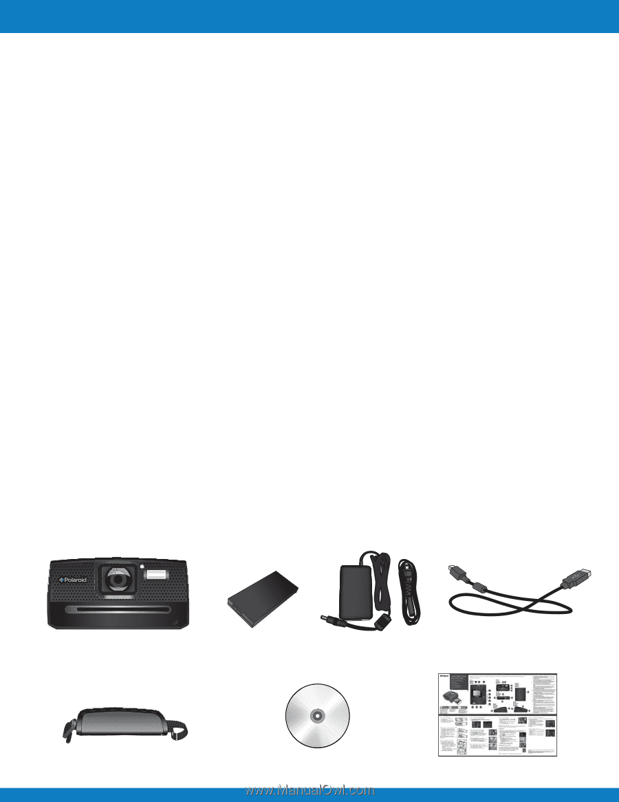 polaroid z340e z340e instant print digital camera manual rh manualowl com Instruction Manual Book User Manual Template