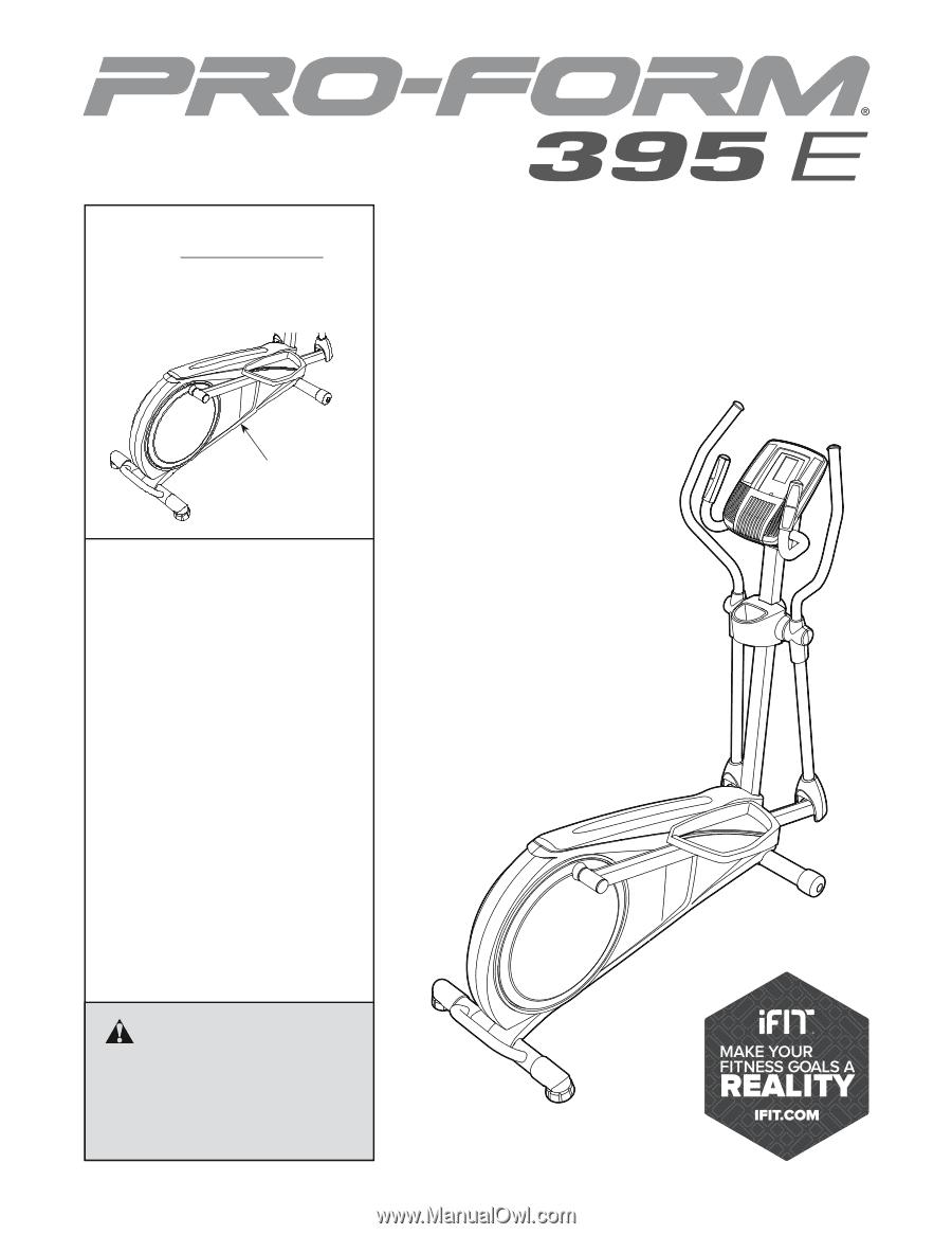 proform 6.0 ce elliptical manual