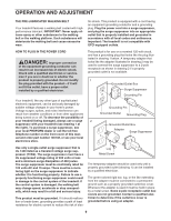 proform 485 pi treadmill manual