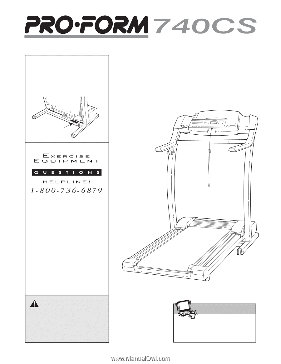 proform 740 cs treadmill english manual rh manualowl com proform 740cs treadmill parts Proform 515s Crosswalk