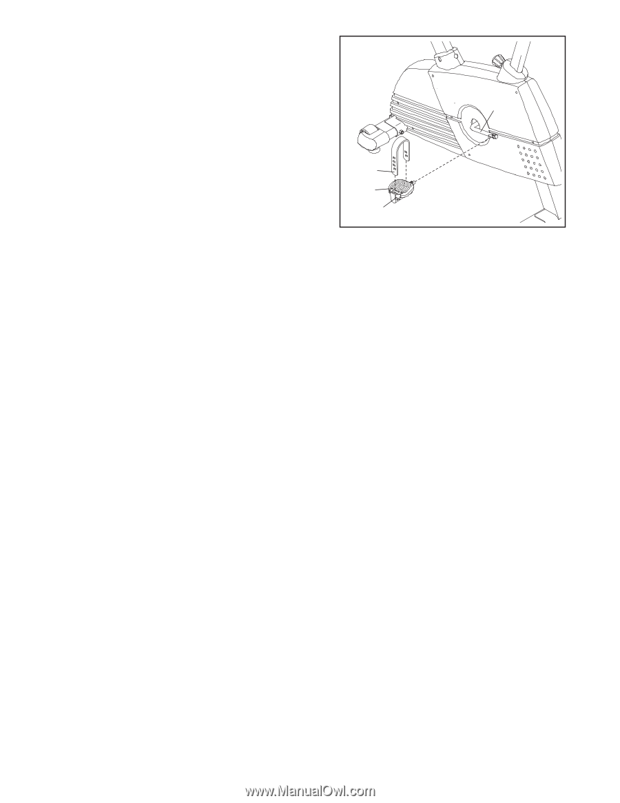 Proform 750 Ekg Bike French Manual