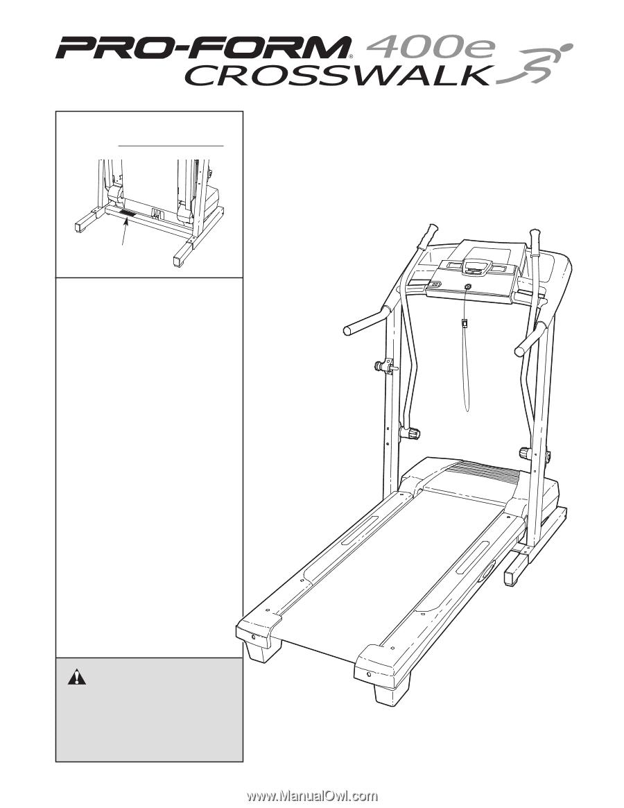 Proform 400e Treadmill Wiring Diagram Crosswalk E User Manual 900x1165