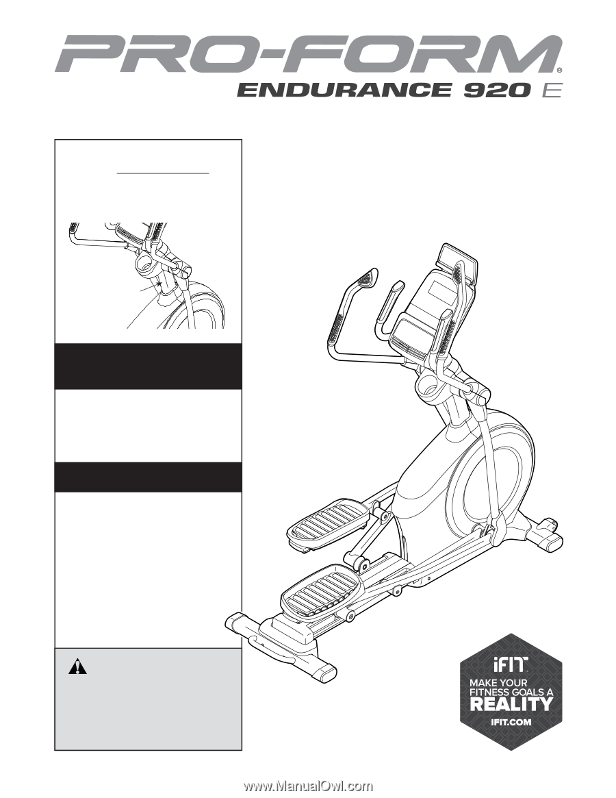 Conformation For Endurance Manual Guide