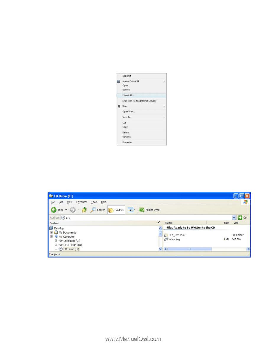 RCA BRC3109 | BRC3109 Software Update Instructions