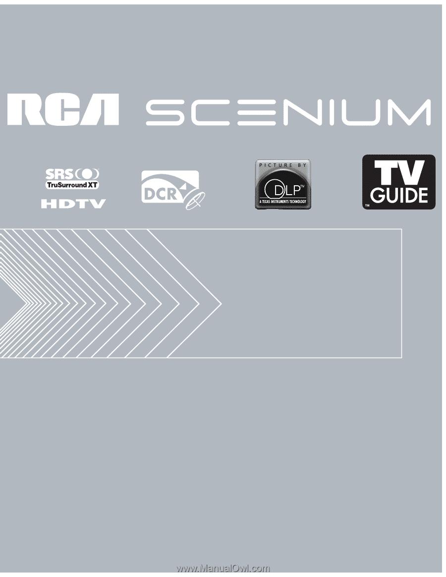 rca hd50lpw175 user manual rh manualowl com DLP TV Problems Samsung DLP HDTV