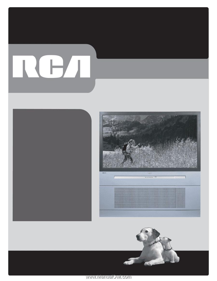rca r52wh74 manual rh manualowl com RCA HD52W67 RCA D52W20 ITC222