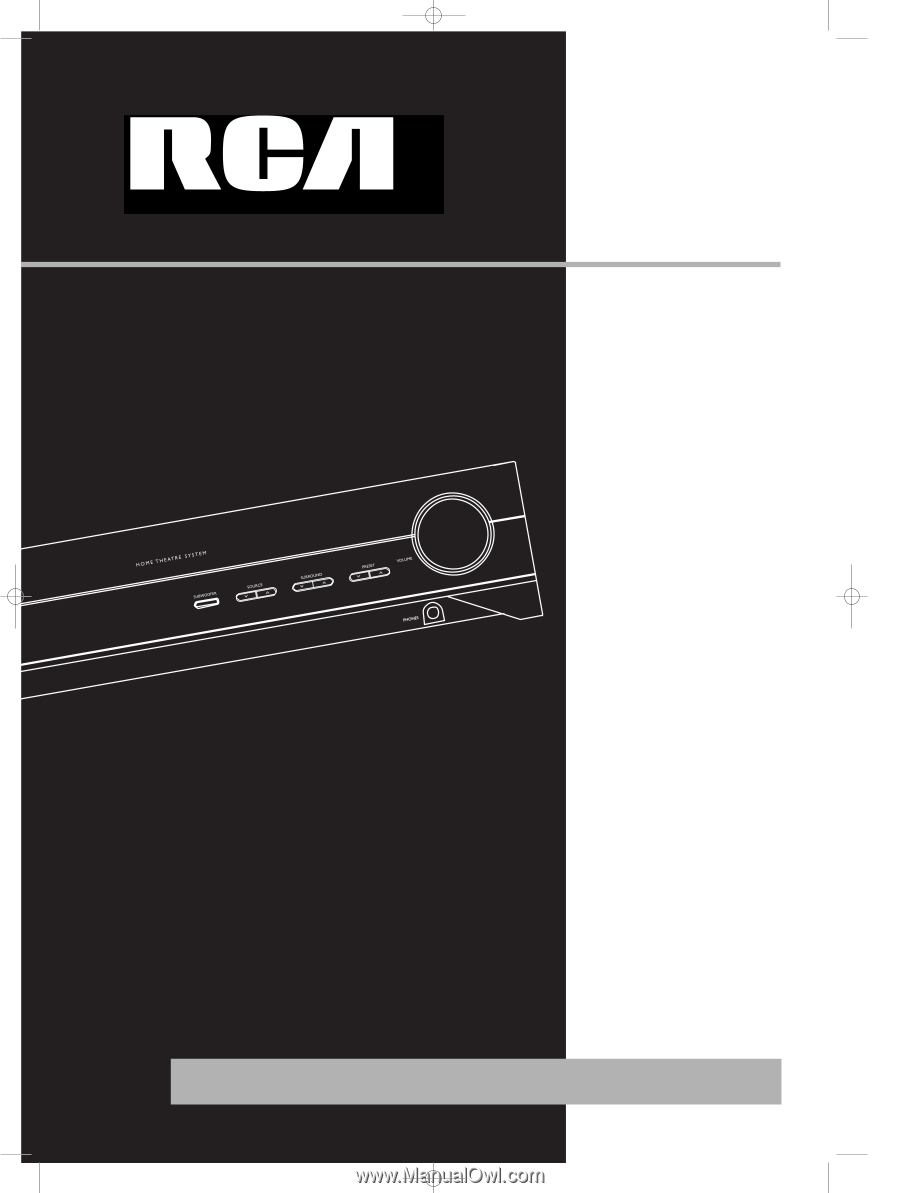 rca rt2380bk user manual rh manualowl com RCA RTD317W Home Theater System RCA DVD Home Theater System