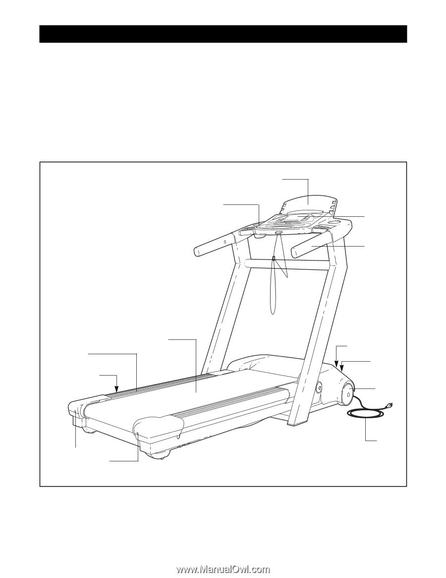 Reebok Acd3 Treadmill User Manual