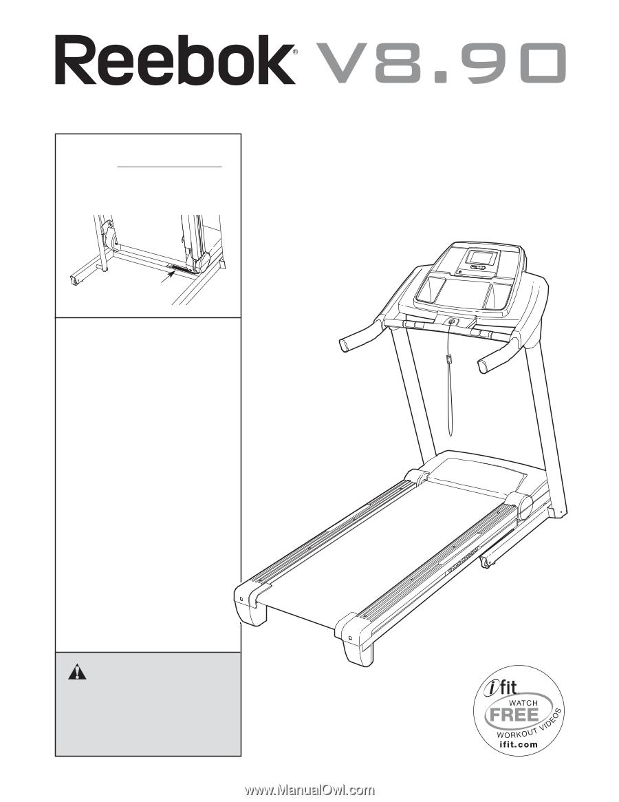 Reebok V 890 Treadmill User Manual