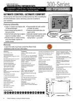 rheem 200 series instruction manual rh manualowl com Rheem Gas Water Heater Thermostat Old Rheem Thermostat