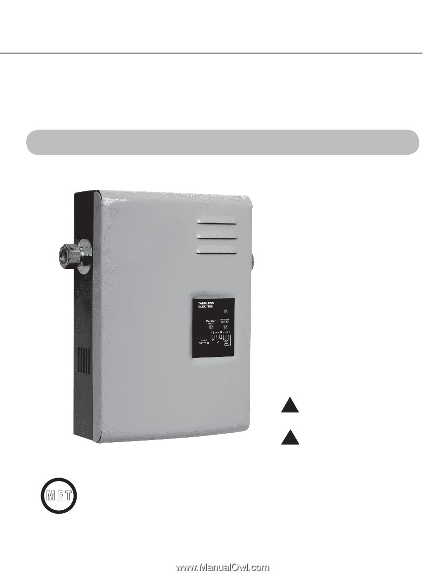 Rheem Rte 13 Series Use And Care Manual