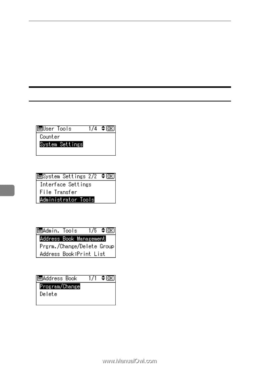 Ricoh Aficio MP 2000 | General Settings Guide - Page 145