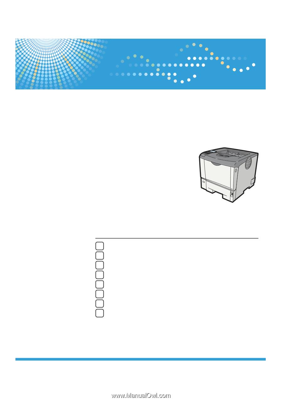 Ricoh Aficio SP 4310N Manual
